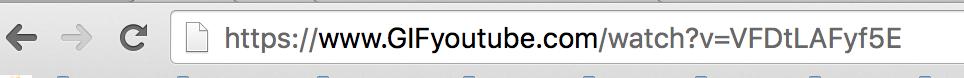 Как создать GIF анимацию с видео на YouTube